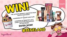 WIN The Ultimate Benefit Cosmetics Pack and Much More!