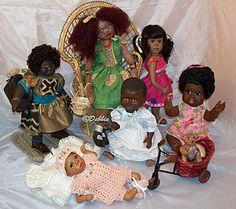 When black dolls talk, Debbie Garrett listens   Auction Finds