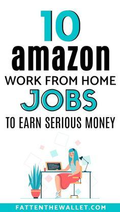 Ways To Earn Money, Earn Money From Home, Earn Money Online, Online Jobs, Way To Make Money, Money Fast, Working For Amazon, Amazon Work From Home, Make Money On Amazon