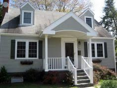 Cape Cod House Plans Generally Feature Floor Plans With Living Quarters On The First Floor And Most Of Cape Cod House Exterior Porch Design Front Porch Design