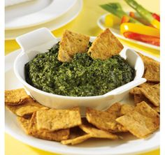 Hot Cheesy Spinach Spread - uses PC Greek Yogurt- Plain. Great Recipes, Snack Recipes, Cooking Recipes, Favorite Recipes, Yummy Recipes, Recipies, Healthy Dips, Healthy Choices, Spinach Cheese Dip