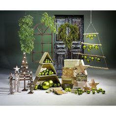 Deco Idea decorativa Navidad verde & Decoración en DecoWoerner