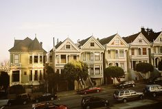 7 Painted Ladies in San Fran! Ugh I want to go back!