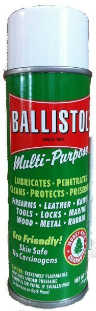 For more than a hundred years, consumers have trusted Ballistol to lubricate, penetrate, clean, protect, and preserve their firearms, leather gear, wood, metal surfaces, and more.