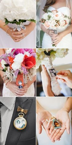 38 Creative Ways to Honor Your Parents at Your Wedding - Photo Charms