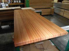 Butcher Block Countertops Red Oak