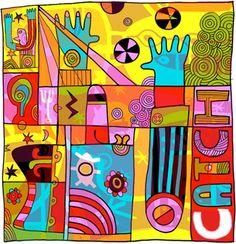Pinzellades al món: Explosió de color: il·lustracions de Simon Wild / Explosión de color: ilustraciones de Simon Wild