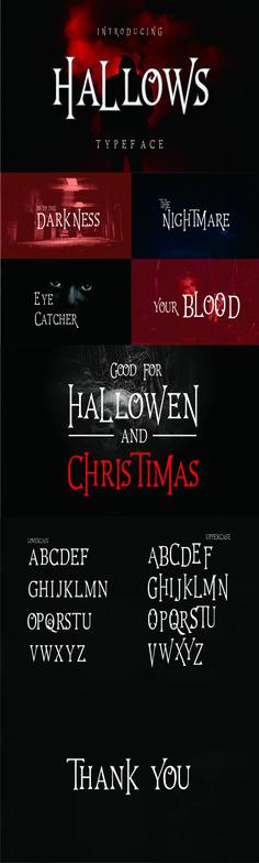Hallows Typeface - Script Fonts