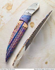 Wharncliff ko4778 by P J Ernest This is a true awesome tool, handmade and assembled with great pride...