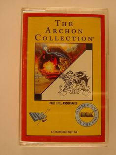 The Archon collection [Videojuego]. Redwood City, CA: Electronic Arts, 1989. 1 casete. Museo Histórico de la Informática (Boadilla del Monte, Madrid) http://mhi.fi.upm.es   Colección Digital Politécnica http://cdp.upm.es/R/?object_id=473564&func=dbin-jump-full