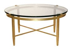 Devonshire Round Coffee Table