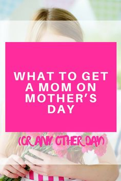 Mother's Day is just a few weeks ahead of us, which means it's the perfect time to get the most important woman in your life something that she will enjoy, and which will make her feel loved and valued. Mother's Day Gifts. What to buy. Offer your mom.