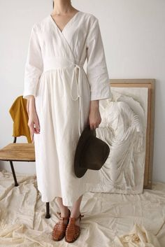 Chime Wrap Dress | Made-to-measure fashion by MétaFormose on Etsy