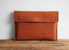 Macbook Leather Case  by Misoui