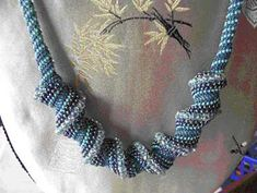 Peyote Spiral Necklace at Sova-Enterprises.com