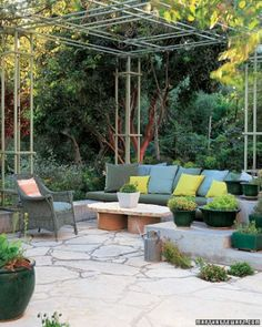 Create a Palette to Match Your Garden.