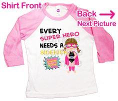 superhero big sister shirt big sister to be comic by CottonLaundry, $26.50