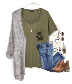 """""""Personalized sets, read d"""" by lydia-hh ❤ liked on Polyvore featuring MANGO, Henri Bendel, Kendra Scott, Too Faced Cosmetics, Ray-Ban, Tory Burch, e.l.f. and Kate Spade"""
