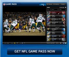 With NFL.com Game Pass you can watch every NFL game live1 or on demand, on all…