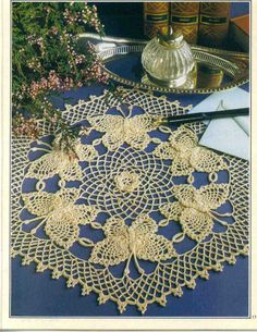 free crochet doily patterns | free crochet butterfly doily pattern if you have been looking for free ...