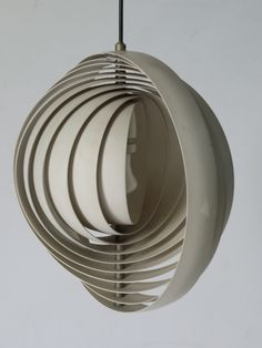 Moon ceiling light designed in 1960 made by louis poulsen moon ceiling light designed in 1960 made by louis poulsen copenhagen in the 1960s white metal lamella internship pinterest light design aloadofball