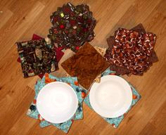 Free Sewing Patterns for All of Your Kitchen Needs: Mass Produce Microwave Bowl Pot Holders