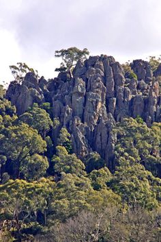 Hanging Rock has served as a hideout and observation post for bushrangers and is surrounded by an aura of mystery. Rainbow Serpent, Macedon Ranges, Farm Stay, Family Days Out, Melbourne Victoria, Australia Day, Private Garden, Holiday Time, Day Trips