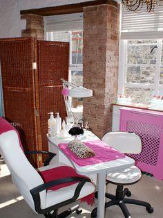 Nail Salon Treatment Tables..