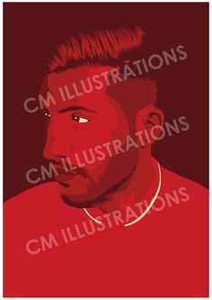 Emre Can. Available on A5, A4, A3 and A2. (180g)