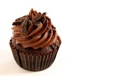 Photo about A chocolate cupcake with chocolate frosting and chocolate shavings. Image of frosting, fine, celebration - 15963189 Cocoa Frosting Recipe, Chocolate Peanut Butter Frosting, Homemade Frosting Recipes, Best Chocolate Buttercream Frosting, Chocolate Frosting Recipes, Chocolate Custard, Cooking Chocolate, Chocolate Icing, Chocolate Shavings