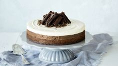 Kolmen suklaan juustokakku vie suklaanhimon mennessään. Tämäkin resepti vain n. 1,00€/annos*.