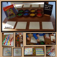 """Invitation to create peg patterns from Rachel ("""",)"""