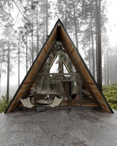 A Modern Wooden A-Frame Cabin in Lake Tahoe, California - The Nordroom