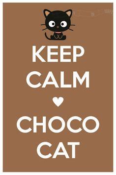 KEEP CALM CHOCO CAT tjn