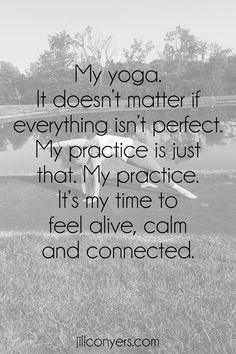 Yoga was something that was way out of my comfort zone and starting with a home practice felt safe. A way to step outside of my comfort zone and simply try.