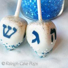 Hannukah Cake Pops