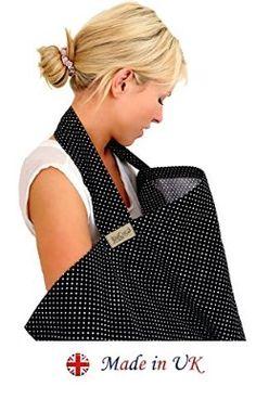 BebeChic Breastfeeding Covers  black / white dot