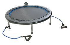 Stamina InTone Plus 38 in. Rebounder - Ideal low-impact cardiovascular exercise for beginning or advanced fitness enthusiasts Large rebounding surface with optic blue border for safe. Trampolines, Trampoline Reviews, Best Trampoline, Rebounder Trampoline, Trampoline Workout, Fitness Trampoline, Fitness Monitor, Fitness Models, Training