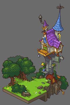 Title:Rapunzel met her prince during World Cup! Pixel Artist:WSX