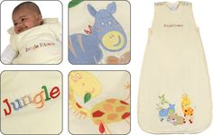 Jungle Friends Baby Sleeping Bags