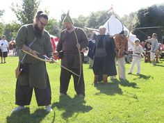 Jousikisa - Archery competition, Hämeen keskiaikamarkkinat 2014 - Häme Medieval Faire 2014, © Piela Auvinen
