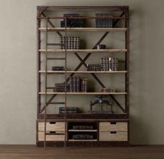 Restoration Hardware: Nice bookshelf