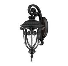 """View the Acclaim Lighting 2102 Naples 1 Light 18"""" Height Outdoor Wall Sconce at LightingDirect.com."""