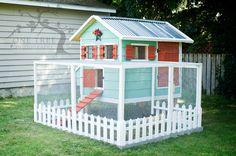 Very nice chicken coop
