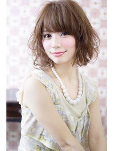 ドールヘアー(Doll hair)甘辛MIXミルクティーカラーエアウェーブby dollhair