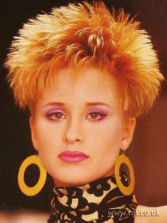 spiky haircuts for 1000 images about 80s hair on 80s hairstyles 4981