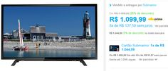 "TV LED 32"" Semp Toshiba 32L1500 HD 2 HDMI 1 USB 60Hz << R$ 104499 >>"