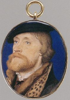 A Miniature Of Thomas Wriothesley, 1st Earl of Southampton  --  Circa 1535  --  Hans Holbein  --  Metropolitan Museum of Art