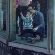 Harry Styles and baby Lux