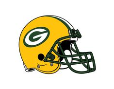 Green Bay Packers Helmet Logo on Chris Creamer's Sports Logos Page - SportsLogos. A virtual museum of sports logos, uniforms and historical items. Currently over on display for your viewing pleasure Green Bay Packers Logo, Nfl Green Bay, Green Bay Packers Helmet, Packers Football, Football Helmets, Greenbay Packers, Football Team, Cowboys Helmet, Wsu Basketball